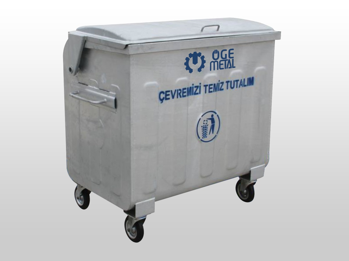 770 Lt. Hot Dip Galvanized Waste Container