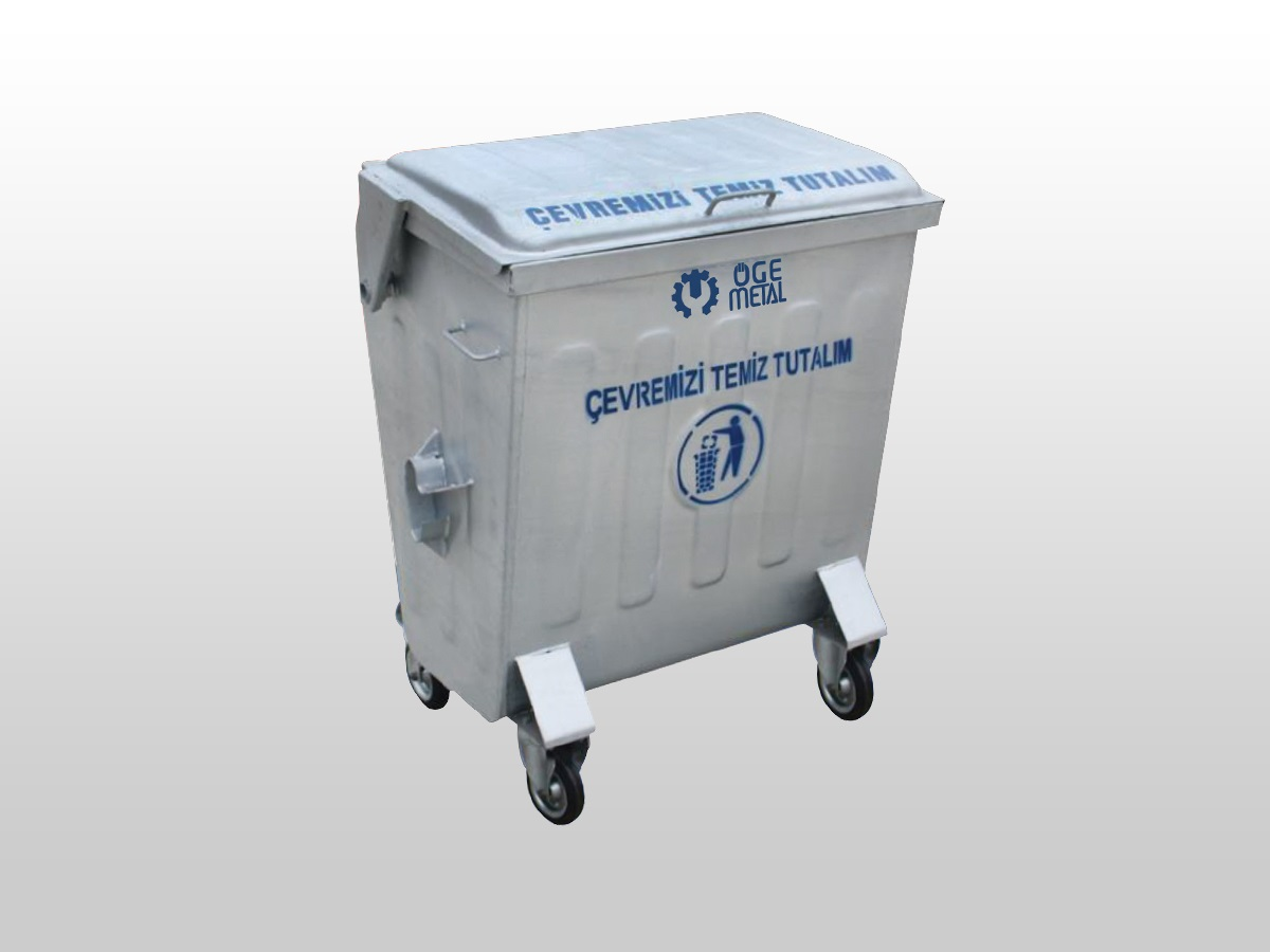 400 Lt. Hot Dip Galvanized Waste Container